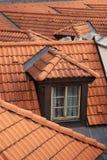 Dormer okno na dachu zdjęcie royalty free