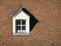 Dormer on rooftop Royalty Free Stock Images