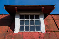 Dormer window on old ceiling Stock Photography