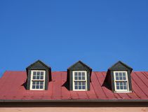 Dormer Windows Stock Photo