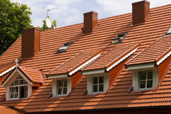 Dormer windows Stock Image
