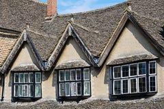 Dormer windows, Burford. Stock Images