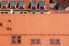 Dormer windows Royalty Free Stock Photography