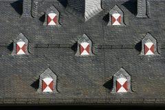 dormers симметричные стоковое изображение