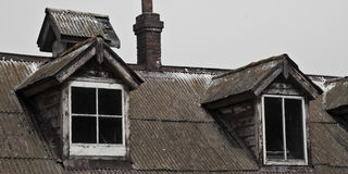Dormers antiques Photo stock