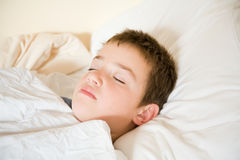 Dormido Foto de archivo