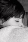 Dormido rápido y sueño imagenes de archivo