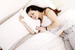 Dormir Photos libres de droits