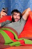 Dormir-no fim de semana Imagem de Stock Royalty Free