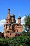 Dormition大教堂在Krutitsy家长式Metochion在莫斯科 库存图片