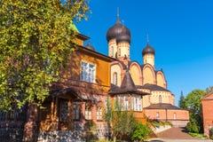 Dormition女修道院在Kuremae 爱沙尼亚,欧盟 库存图片
