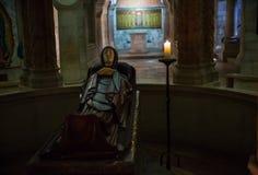 Dormition的修道院在耶路撒冷 库存照片