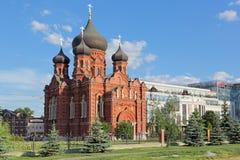 Dormition的大教堂 免版税库存图片