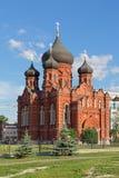 Dormition的大教堂 免版税图库摄影