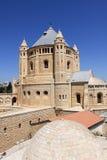 Dormition,耶路撒冷的教会 免版税库存照片