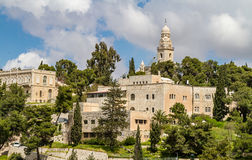 Dormition Abbey, Institute of the Bible Stock Photos