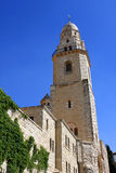 Dormition abbey, Jerusalem Stock Photos