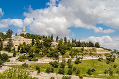 The Dormition Abbey in Jerusalem, Israel Royalty Free Stock Photography