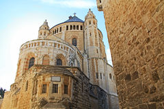 Dormition Abby in Jerusalem Royalty Free Stock Photography