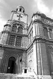 Dormition av modern av guddomkyrkan, Varna - Bulgarien Arkivfoto
