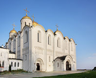 Dormition Cathedral (Assumption Cathedral) in Vladimir. Russia Stock Image