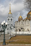 The Dormition Cathedral (Assumption Cathedral) in Vladimir, Russia Stock Image
