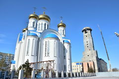 Dormition Cathedral in Astana Royalty Free Stock Image