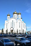 Dormition Cathedral in Astana Royalty Free Stock Photos