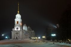 The Dormition Cathedral Bell Tower. Vladimir Royalty Free Stock Photo