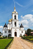 Dormition Cathedral of Dmitrov Kremlin, Russia Stock Photography