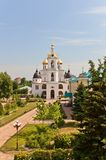 Dormition Cathedral (1512) in Dmitrov, Russia Royalty Free Stock Photography