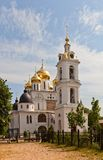 Dormition Cathedral (1512) in Dmitrov, Russia Royalty Free Stock Image