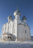 Dormition Cathedral in the Kremlin of Rostov the Great, Royalty Free Stock Photo