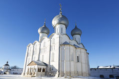 Dormition Cathedral in  the Kremlin of Rostov the Great, Stock Images