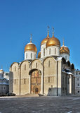 Dormition Cathedral, Moscow Stock Images
