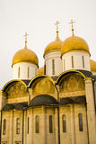 Dormition cathedral. Moscow Kremlin. Color photo. Royalty Free Stock Photo