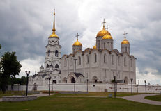 Dormition Cathedral in Vladimir Stock Photo