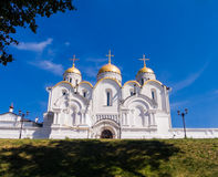 Dormition Cathedral in Vladimir. One of the oldest cathedrals in Russia, included in the UNESCO world heritage site royalty free stock photography