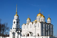 Dormition Cathedral in Vladimir, Russia. Stock Photo