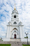 Dormition Cathedral in Vladimir, Russia Stock Image