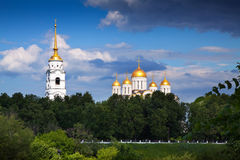 Dormition Cathedral in Vladimir Stock Image