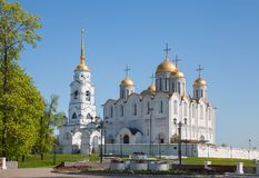 Dormition Cathedral in Vladimir Royalty Free Stock Image