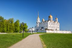 Dormition Cathedral, Vladimir Royalty Free Stock Photo