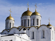 The Dormition cathedral in Vladimire (Russia) Royalty Free Stock Image