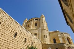 Dormition Church Israel Royalty Free Stock Photos