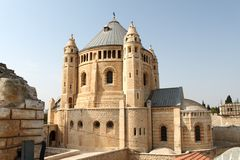 Dormition Church, Jerusalem Stock Images