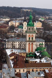 Dormition Church in Lviv Stock Photo