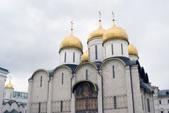Dormition church of Moscow Kremlin. Color photo Stock Photo