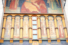Dormition church. Moscow Kremlin. UNESCO Heritage. Royalty Free Stock Images