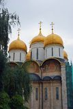 Dormition church. Moscow Kremlin. UNESCO Heritage. Stock Images